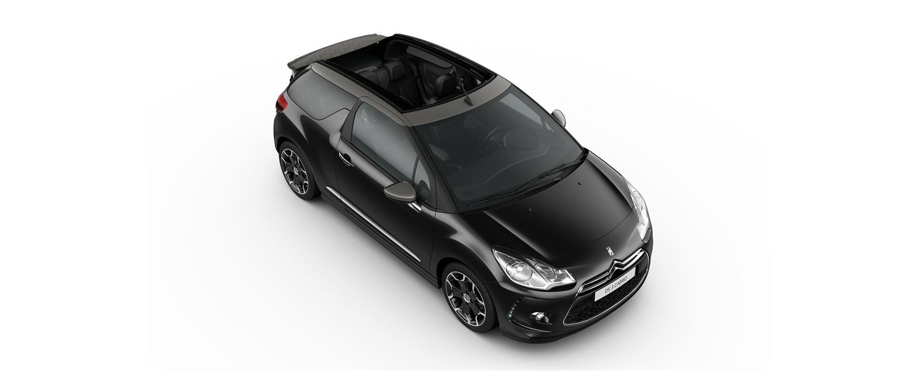 DS 3 Cabrio - Perla Nera Black
