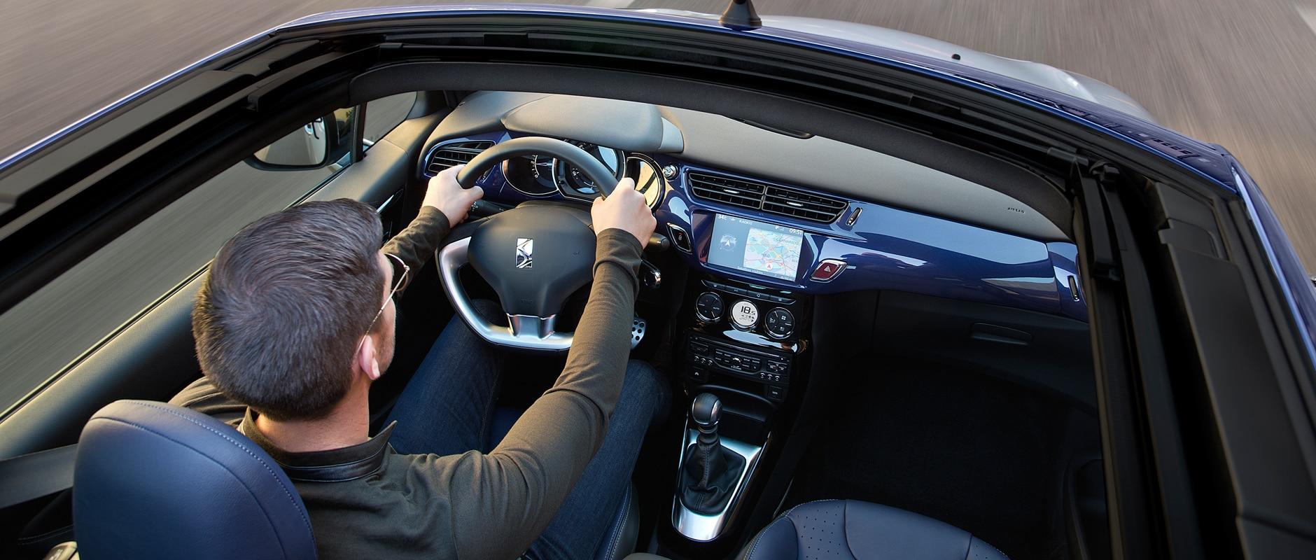 DS 3 Cabrio - détails - Comfort