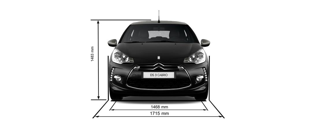 DS 3 Cabrio - détails - Dimensions